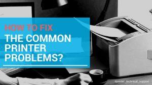 common-printer-problems