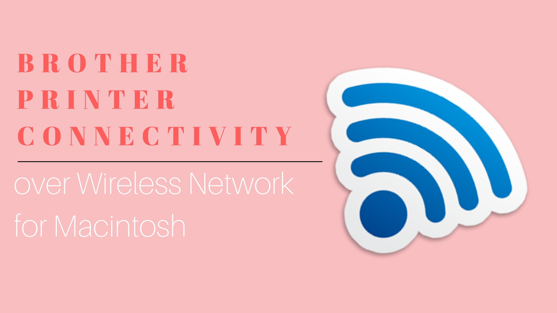 how to connect wireless printer to computer brother
