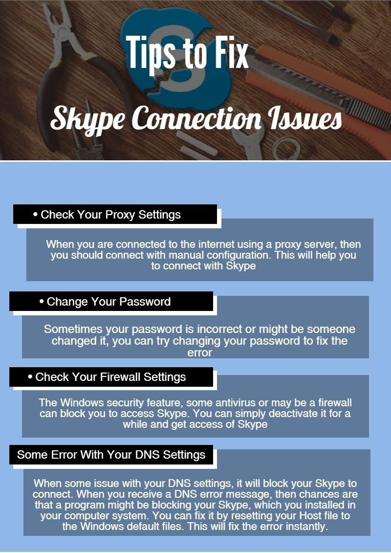 Skype connection problem – Number Customer Care