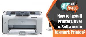 Lexmark-Printer-Driver-Installation