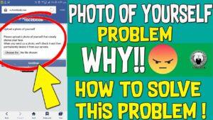 upload photo facebook problem